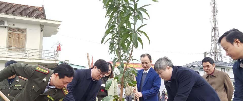 Hà Tĩnh: Phát động ra quân Tết trồng cây đời đời nhớ ơn Bác Hồ xuân Canh Tý tại các địa phương