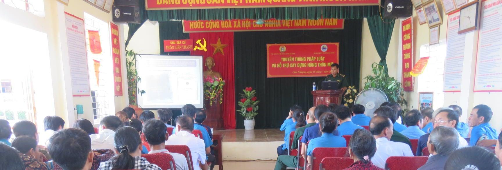 Liên đoàn Lao động tỉnh Hà Tĩnh: phối hợp tổ chức truyền thông cho đoàn viên nghiệp đoàn Nghề cá