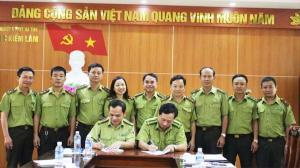 Ký kết Kế hoạch phối hợp trong công tác quản lý, bảo vệ và phát triển rừng, quản lý lâm sản trên địa bàn tỉnh Hà Tĩnh năm 2019
