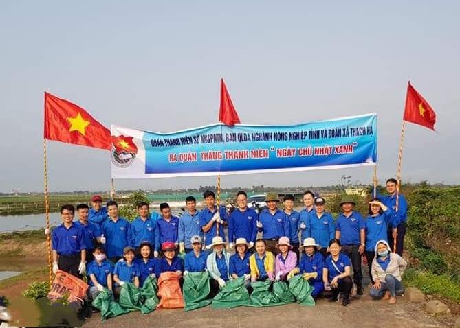 Tuổi trẻ Sở Nông nghiệp và PTNT Hà Tĩnh khởi động Tháng thanh niên